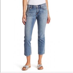 NWT CURRENT ELLIOTT The Cropped Straight Jean